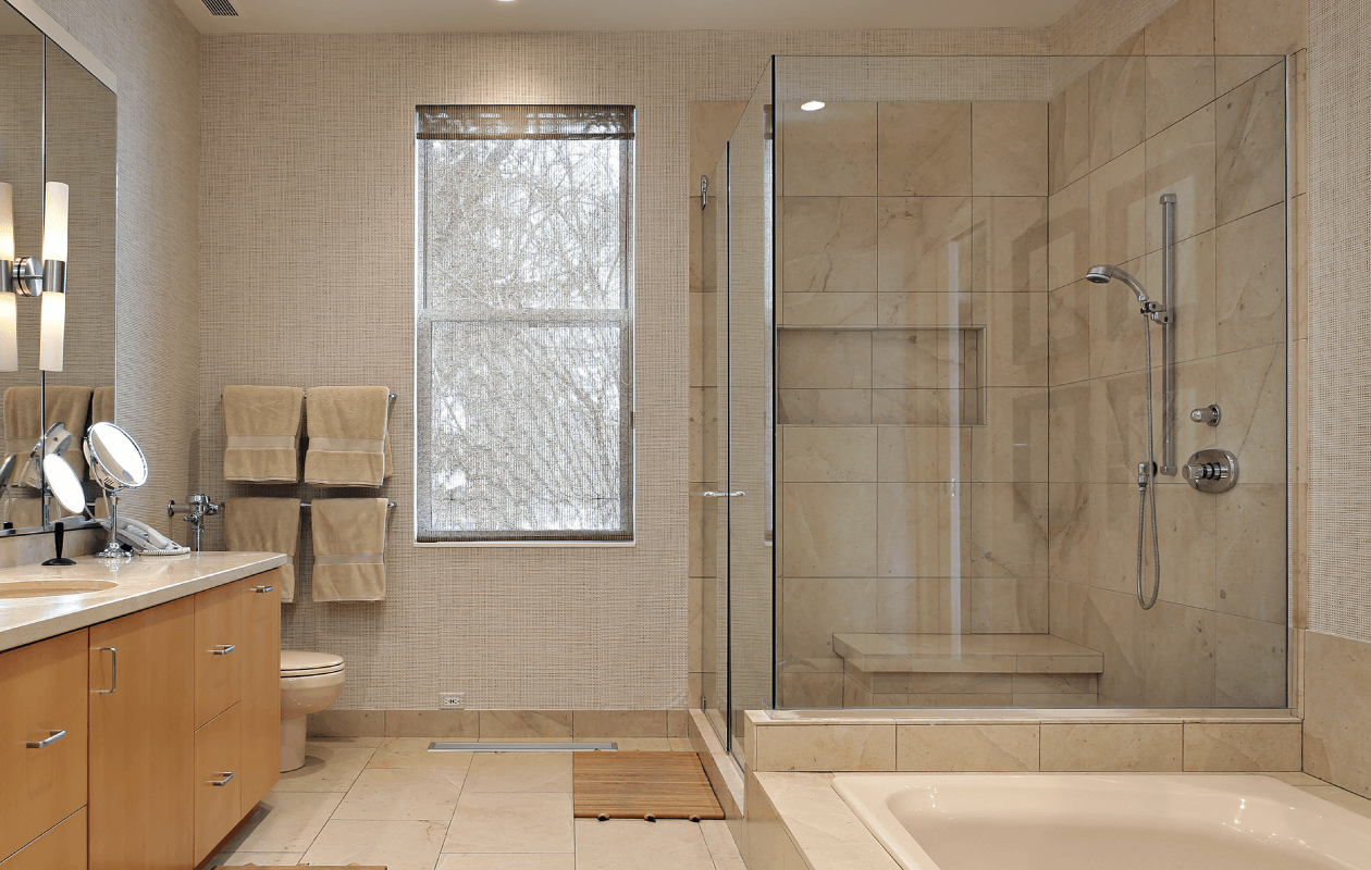 Stunning Custom Glass Door for your shower!